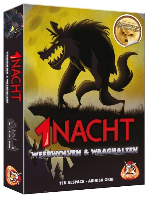 1 Nacht: Weerwolven en Waaghalzen koop je op www.spellenpaleis.nl