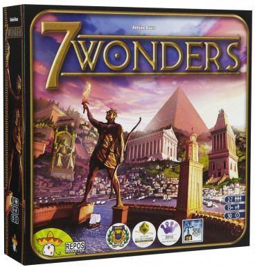 7 Wonders vindt je op www.spellenpaleis.nl