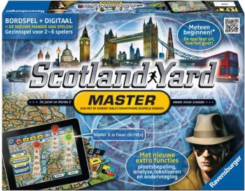 Scotland Yard Master Editie koop je op www.spellenpaleis.nl