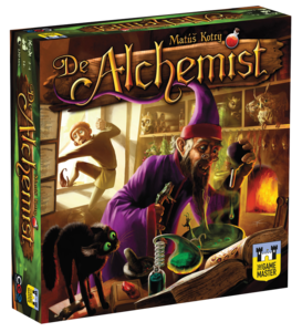 De Alchemist, Bordspel, strategiespel, expertspel