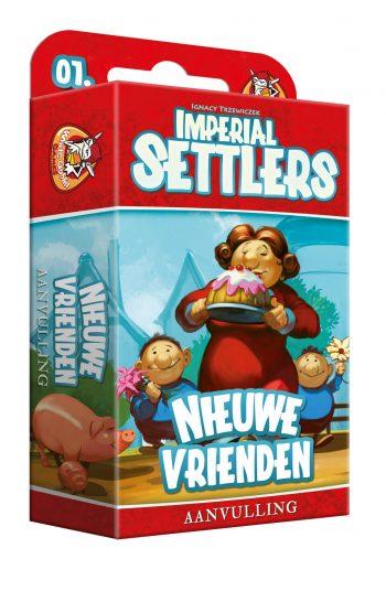 Imperial Settlers Nieuwe Vrienden koop je bij www.spellenpaleis.nl