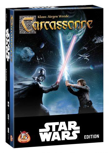 Carcassonne Star Wars vindt je bij Spellenpaleis.nl