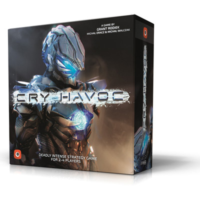 Cry Havoc, bordspel, kaartspel, Science Fiction, SciFi