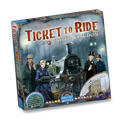 Ticket to Ride - UK / Pennsylvania