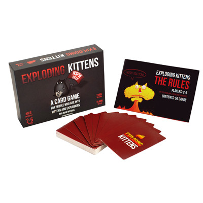 Exploiding Kittens koop je op www.spellenpaleis.nl