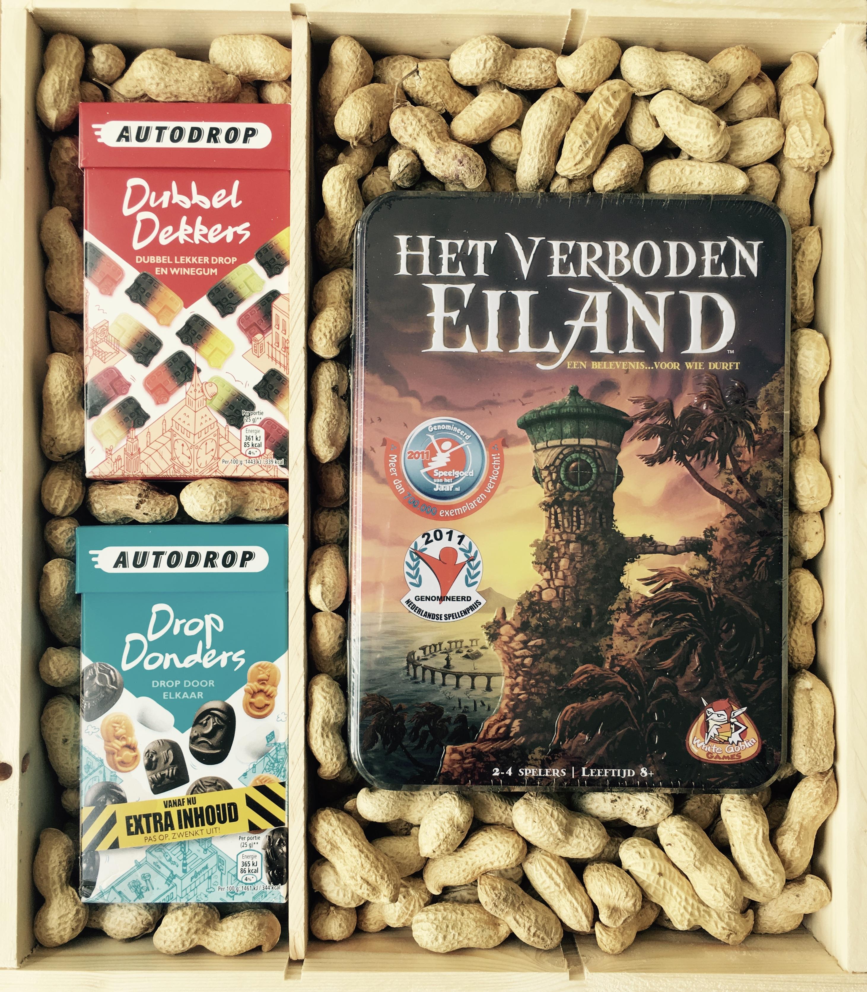 Giftbox Het verboden eiland kopen? spellenpaleis.nl