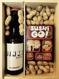 Sushi en bier? Past prima samen in deze giftbox mini!