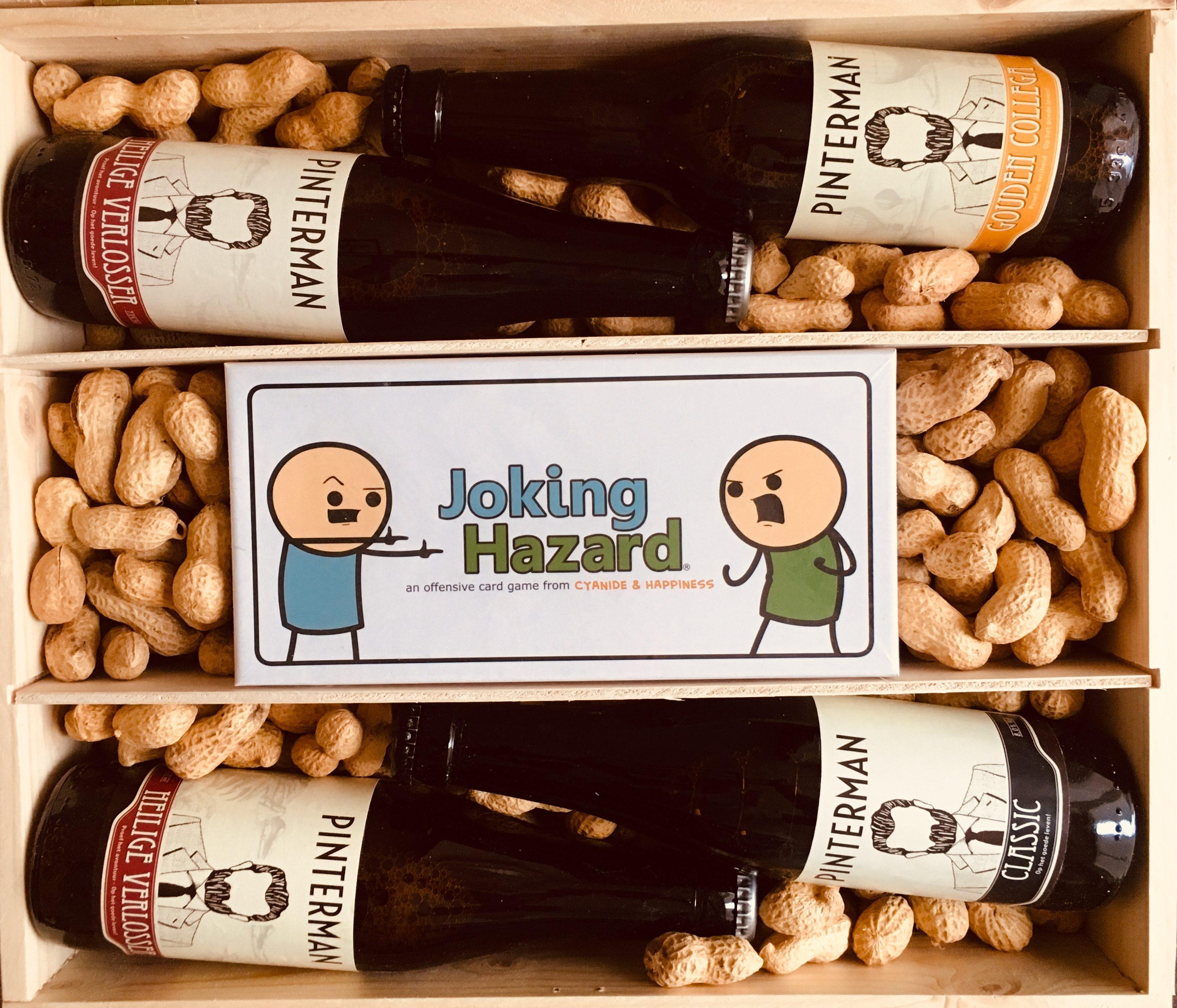 Joking hazard met lekker bier? Spellenpaleis.nl